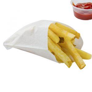 Papirnata vrećica za pomfrit 115х100 mm (3000 kom/pak)