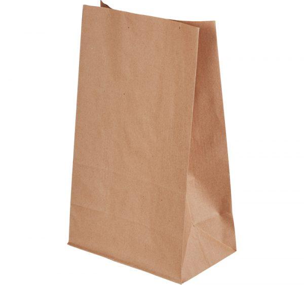 Papirnata vrećica 180х110х300 mm kraft (500 kom/pak)