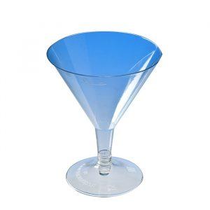 Čaša za Martini PS 100ml prozirna (na crnom stalku) (240 kom/pak)