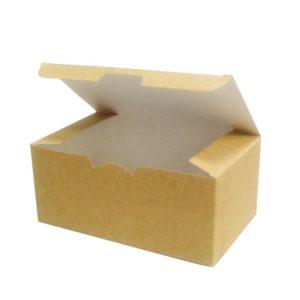 Kutija za hranu za van 150х91х70mm Ecoline kraft (25 kom/pak)