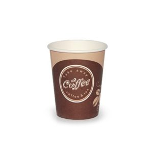 Čaša 250 ml papirnata d=80 mm Coffee take away (50 kom/pak)