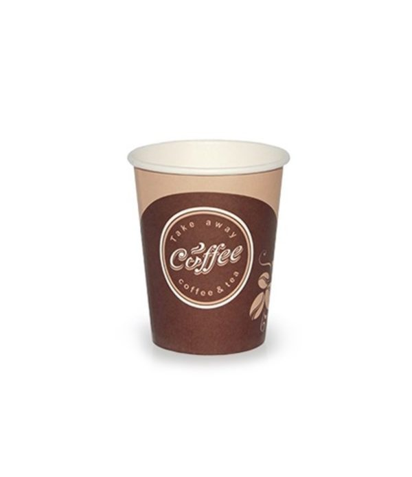 Čaša papirnata 250 ml d=80 mm 1-slojni Coffee take away (50 kom/pak)