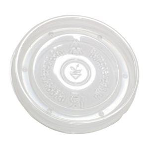 Posuda papirnata d=98mm, h=99mm, 500 ml, bijela za topla jela s poklopcem, 200 kom (komplet)