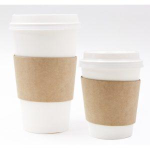 Manžeta za papirnate čaše univerzalna (100 kom/pak)