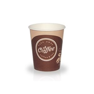 Čaša papirnata 400 ml d=90 mm 1-slojna Coffee take away (50 kom/pak)