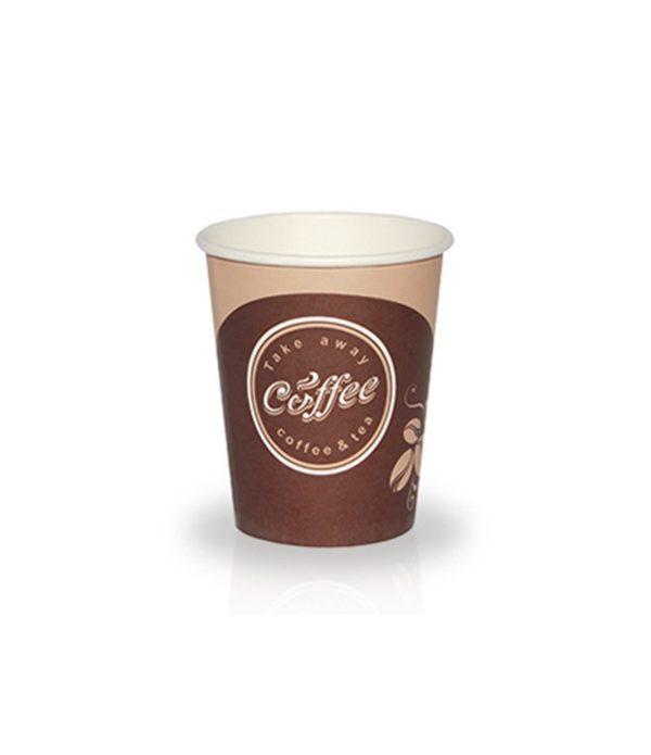 Čaša papirnata 400 ml d=90 mm 1-slojna Coffee take away (50 kom/pak)