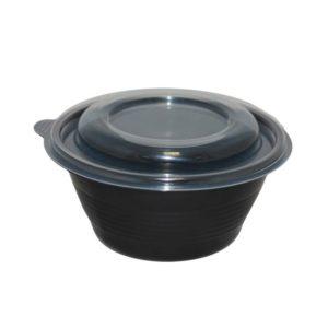 Posuda za juhu PP PR-МС 350ml, crna (90 kom/pak)