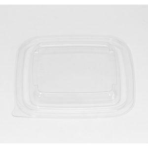 Poklopac PET 126х126mm prozirni (50 kom/pak)