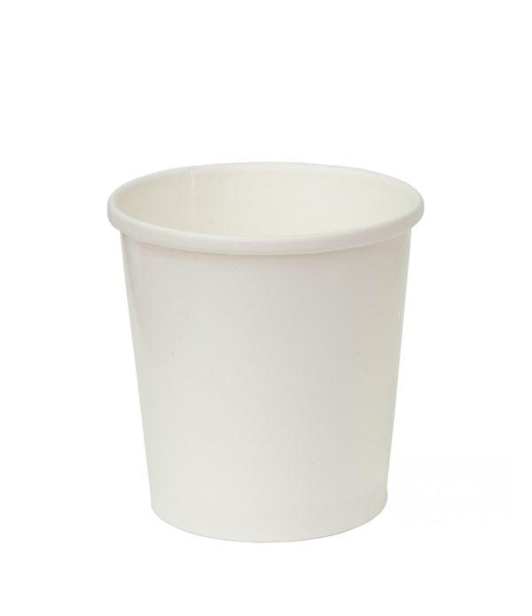 Papirnata posuda za juhu 500 ml d=98mm h=99mm bijela (25 kom/pak)