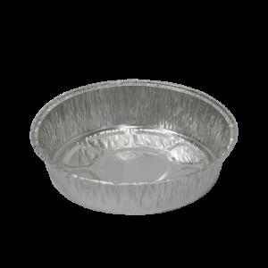 Posuda od aluminijuma okrugla Complement 158х35mm, 470 ml, 55μm (125 kom/pak)