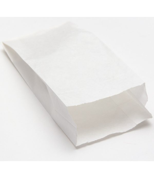 Papirtana vrećica 140х60х290mm bijela (3000 kom/pak)