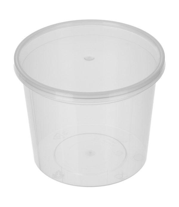 Posuda РР za konzerve zimnicu 500ml d=112mm h=77 s poklopcem, 50 kom (komplet)
