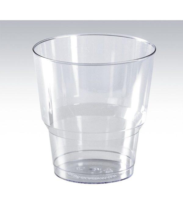 Čaša PS 200ml prozirna Kristal (50 kom/pak)