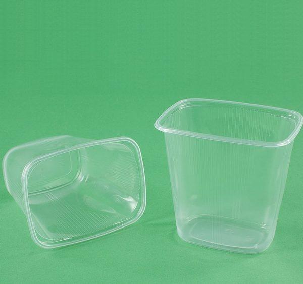 Posuda РР 500 ml 108,3х82,2х102 mm prozirna (100 kom/pak)