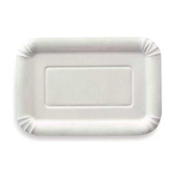 Papirnati tanjur 140х210 mm bijeli glaziran (2500 kom/pak)