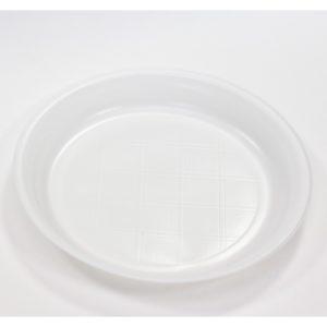 Tanjur plastični bjeli d=205 mm PP (100 kom/pak)