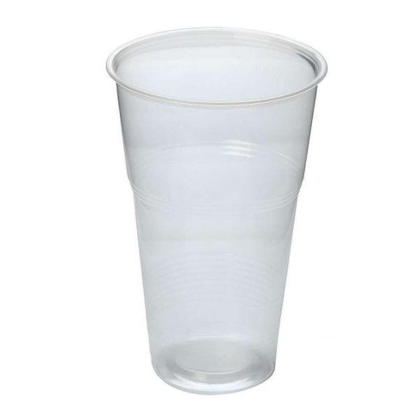 Čaša PP 330 ml prozirna (50 kom/pak)