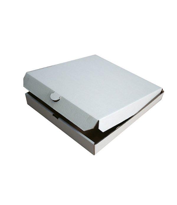 Kutija za pizzu 410x410x40 mm mikro valovit karton (50 kom/pak)