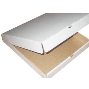 Kutija za pizzu 340x340x40 mm mikro valovit karton (50 kom/pak)
