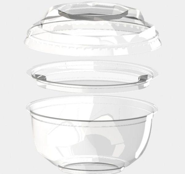 Poklopac za zdjelu BOPS d=110mm providan (1000 kom/pak)