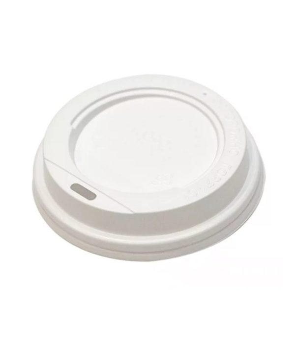 Poklopac sa bočnim otvorom, d=73 mm bel PS (100 kom/pak)