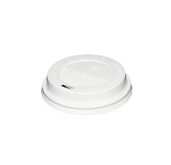 Poklopac PS s bočnim otvorom d=90mm, bijeli (100 kom/pak)