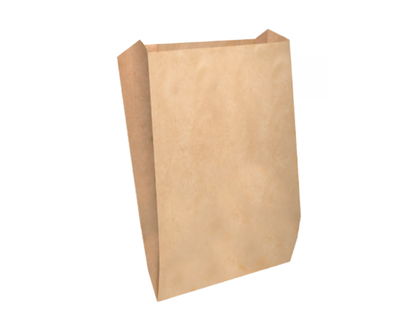 Papirnata vrećica 140х60х250 mm, kraft (2500 kom/pak)