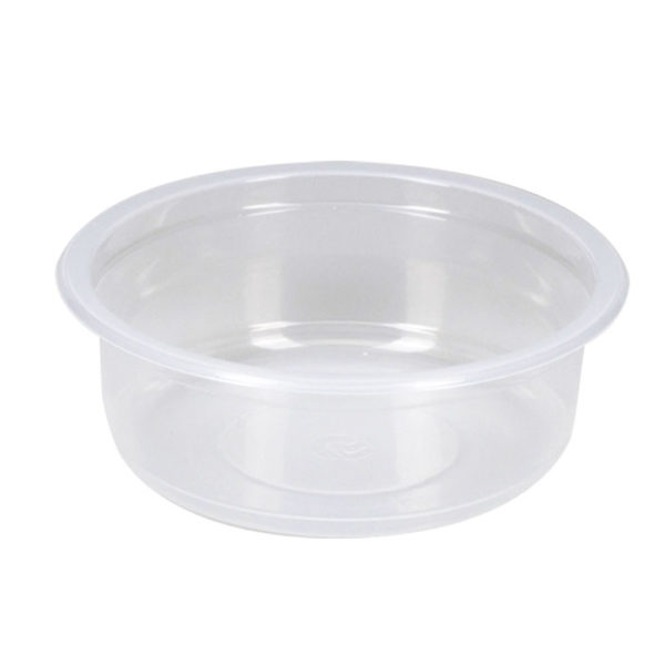 Posuda PP 250 ml d=115 mm h=43,6 mm prozirna (500 kom/pak)