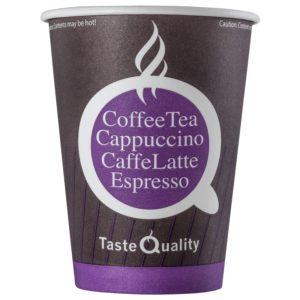 Čaša papirnata jednoslojna 300 (430) ml d=90mm za tople napitke kava TQ (50 kom/pak)