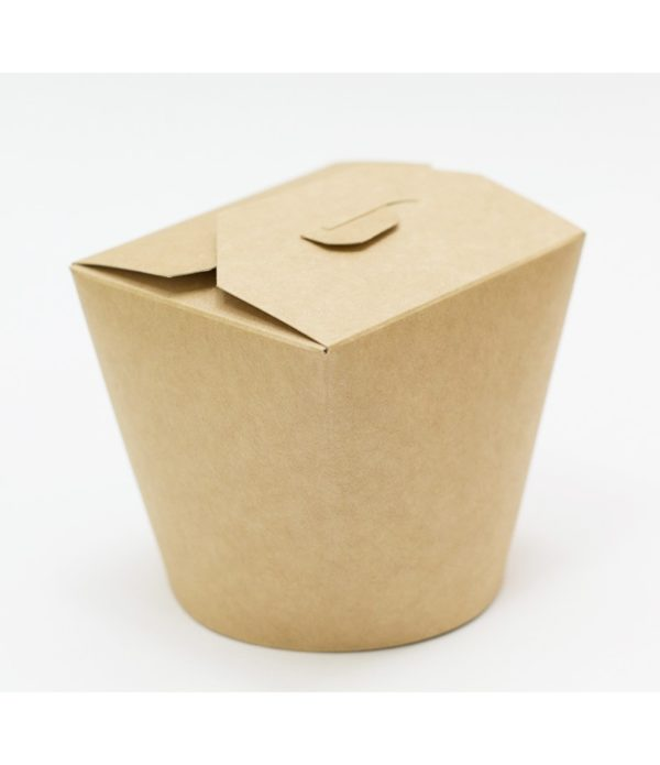 Papirnata posuda za WOK 700 ml kraft (50 kom/pak)