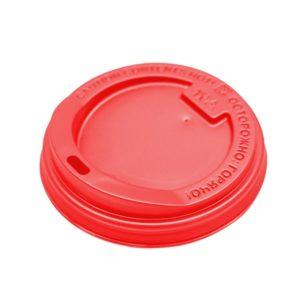 Poklopac s rupom PS d=90 mm crven (100 kom/pak)