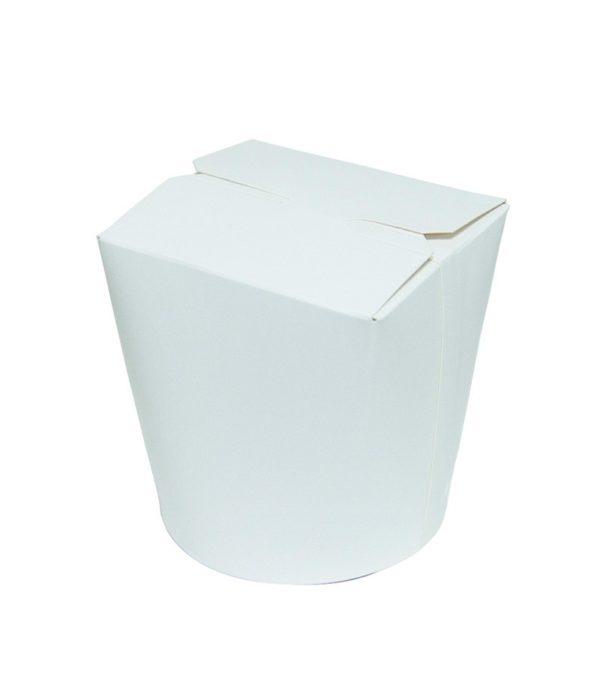 Papirnata posuda za WOK 700 ml bijela (450 kom/pak)
