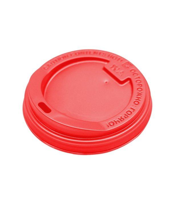 Poklopac s rupom PS d=80 mm crven (100 kom/pak)