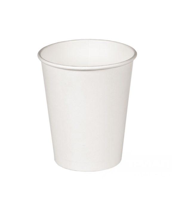Čaša papirnata 1 sl 300(400) ml za tople napitke, d=90 mm bela (37 kom/pak)
