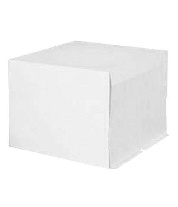 Kutija za torte 400х400х300mm 5kg bez slike, nepremazani karton (poklopac) (20 kom/pak)