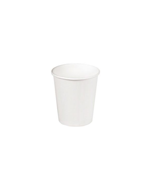 Čaša papirnata 1sloj 100 (109) ml d=62mm za topla jela bijela