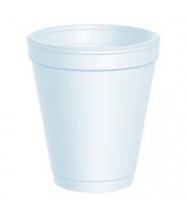 Čaša stiropor 250 ml d=78mm bijela (100 kom/pak)