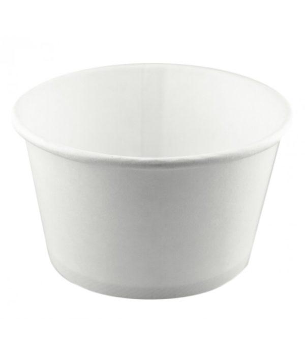 Papirnata posuda za juhu 500 ml d=121 mm h=72 mm bijela (50 kom/pak)