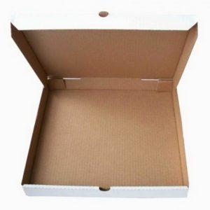 Kutija za pizzu 400x400x40 mm mikro-val karton (50 kom/pak)