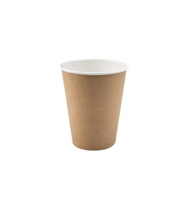 Čaša papirnata 350 (430) ml, d=90 mm kraft (37 kom/pak)