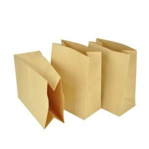 Papirnata vrećica 180x120x290 mm kraft (600 kom/pak)