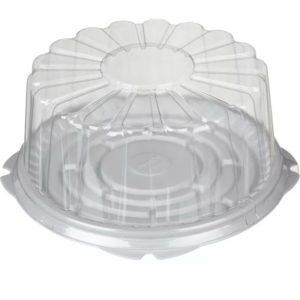 Posuda za torto (dno) PS d=260 mm h=15 mm bijela (100 kom/pak)