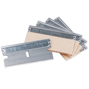 Zamjenske oštrice za strugalo za staklo 4 cm (10 kom/pak)