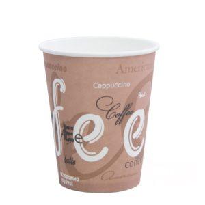 Čaša papirnata jednoslojna Coffee 185/205 ml, d=73 mm (100 kom/pak)