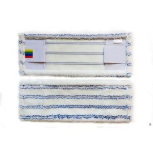 Mop 40×13 cm džep / krilo mikrovlakna sa tvrdim abrazivom