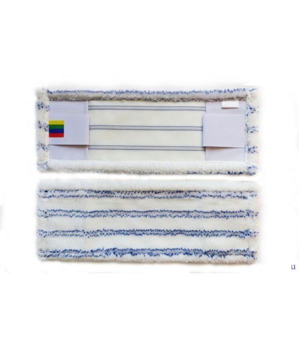Mop 50×14 cm džep / krilo mikrovlakna sa tvrdim abrazivom
