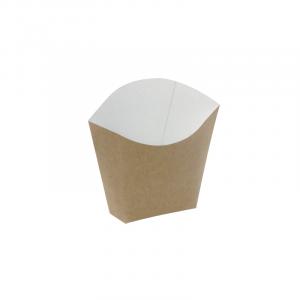 Kutija za pomfrit 81/70 x 49/43 x 71/107 mm kraft (25 kom/pak)