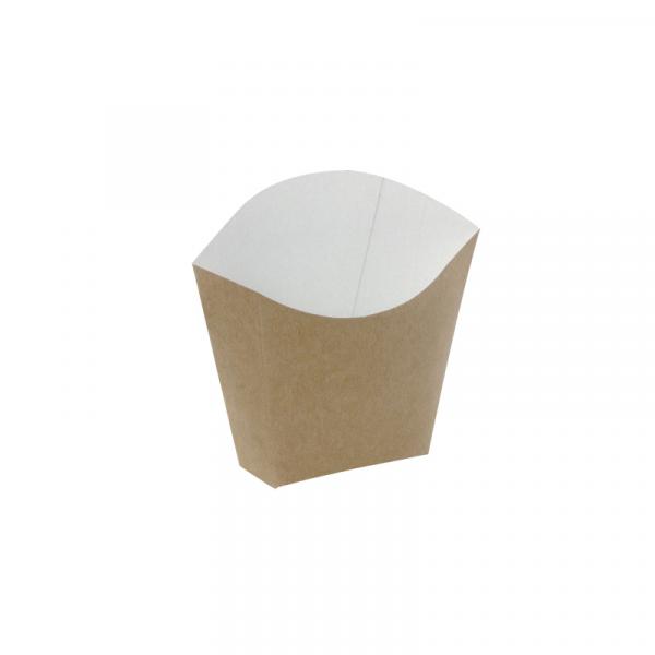 Kutija za pomfrit 81x49x107 mm kraft (25 kom/pak)