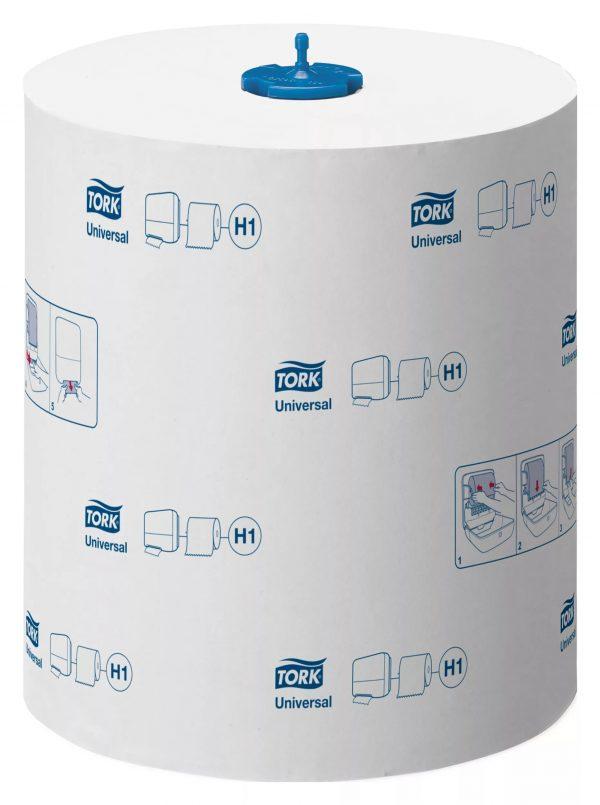 Papirnati ručnici u roli 1-sl 280 m Tork H1 Universal Matic Soft bijeli (290059)