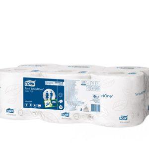 Toaletni papir 2-sl 207 m Tork SmartOne® 6 rol/pak (472242)